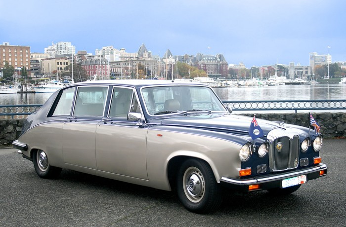 Our Signature Daimler Limousine