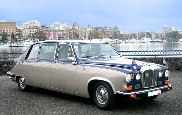 Our Signature Daimler Limousine
